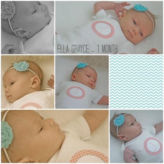 Ella Grayce - 1 month