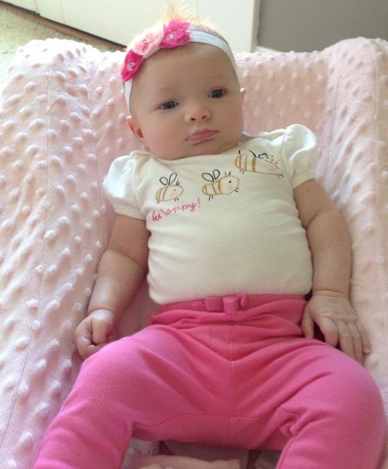 Ella in pink