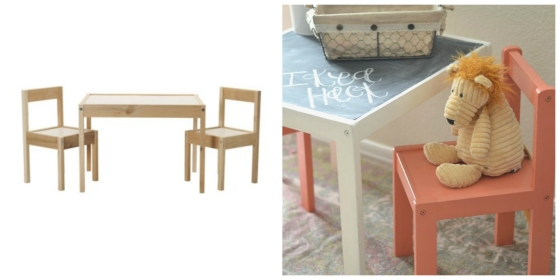 Latt Table and Chairs
